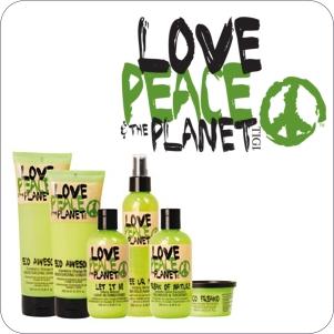 TIGI hårprodukter - TIGI Love Peace & The Planet