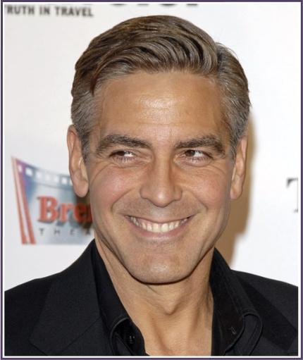 George Clooney look #1 - get-the-look-george-clooney-no-1-look