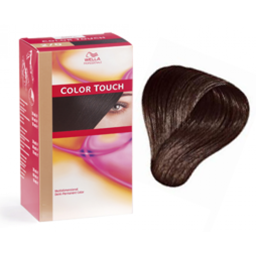 Wella Light Golden Brown  Dark Brown Hairs