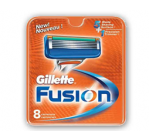 Gillette Fusion (8 stk)