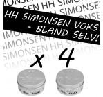 4 stk. HH Simonsen voks - Bland selv (55,- pr. stk)