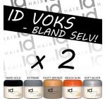 2 stk. ID voks - Bland selv (72,- pr. stk)