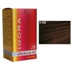Igora Vibrance Medium Brown Auburn Red 4/68