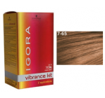 Igora Vibrance Medium Blonde Auburn Gold 7/65